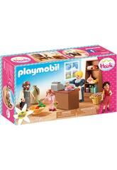 Playmobil Heidi Lebensmittelsladen Familie Keller von Playmobil 70257