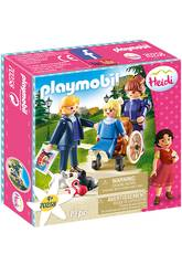 Playmobil Clara, Vater und Frau Rottenmeier Playmobil 70258