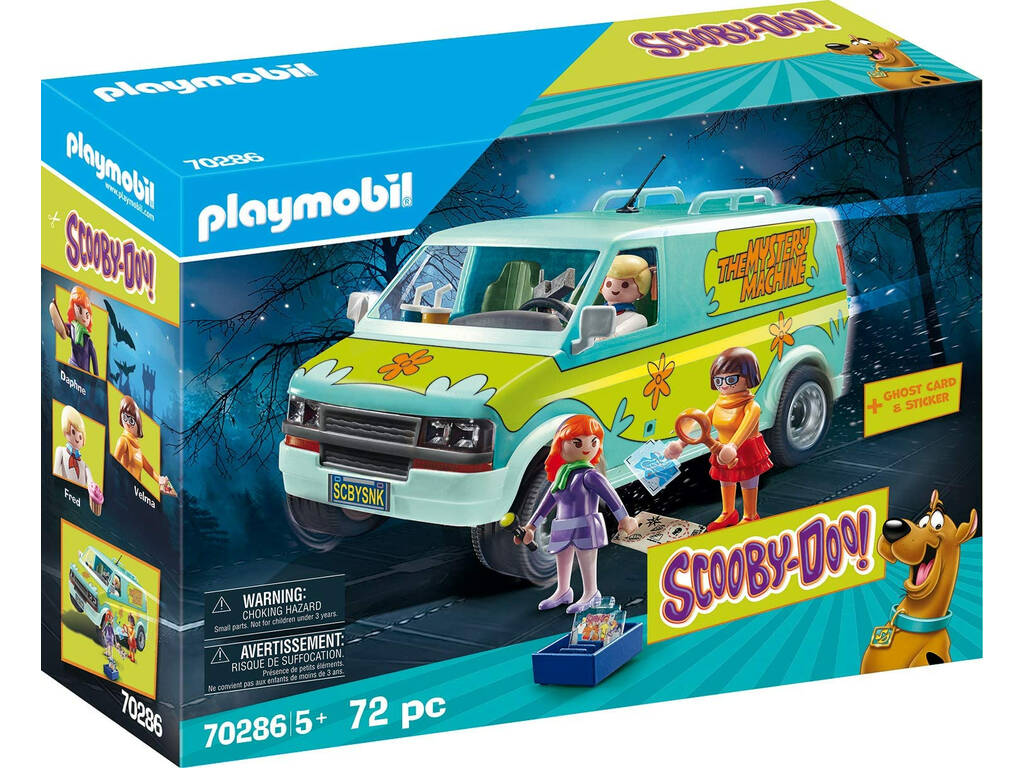 Playmobil Scooby-Doo La Máquina del Misterio 70286