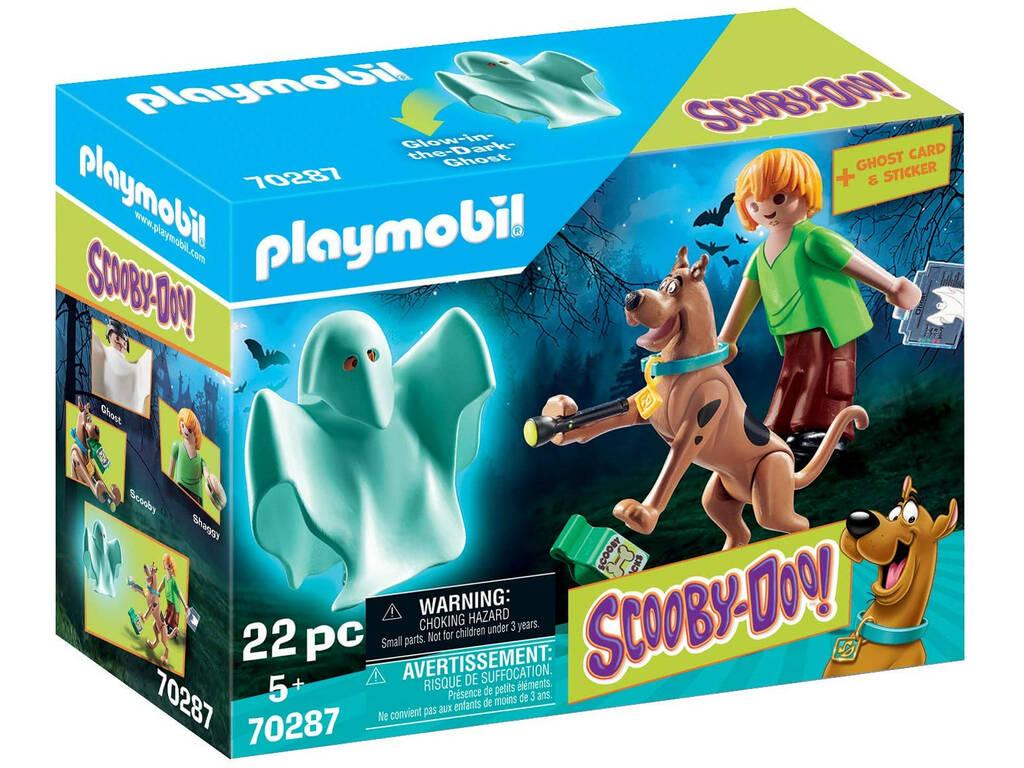Playmobil Scooby-Doo Scooby y Shaggy con Fantasma 70287