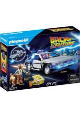 Playmobil Regresso ao Futuro DeLorean 70317