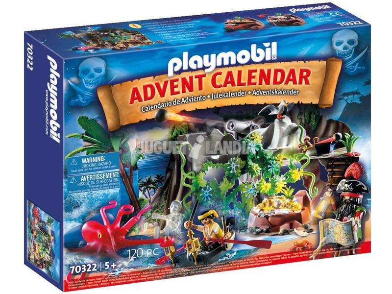 Playmobil Calendario Adviento Piratas 70322
