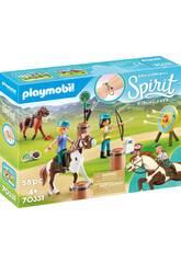 Playmobil Spirit Avventura all'Aria Aperta 70331