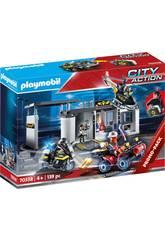 Playmobil Esquadra de Polícia das Forças Especiais Pasta Playmobil 70338