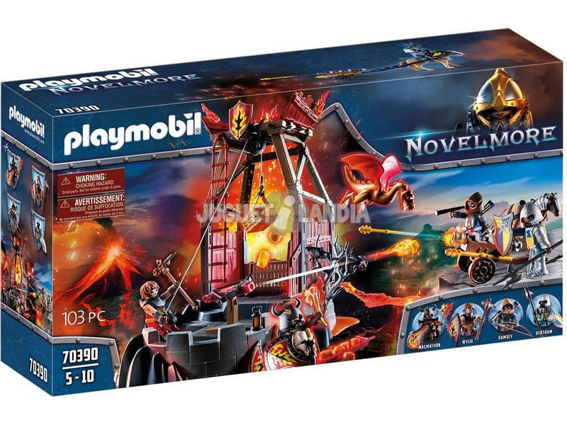 Playmobil Novelmore Mina de Lava de los Bandidos Burnham 70390