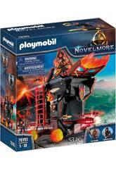 Playmobil Novelmore Ariete de Fogo dos Bandidos de Burnham 70393