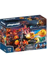 Playmobil Novelmore Catapulta di Lava dei Banditi diBurnham 70394