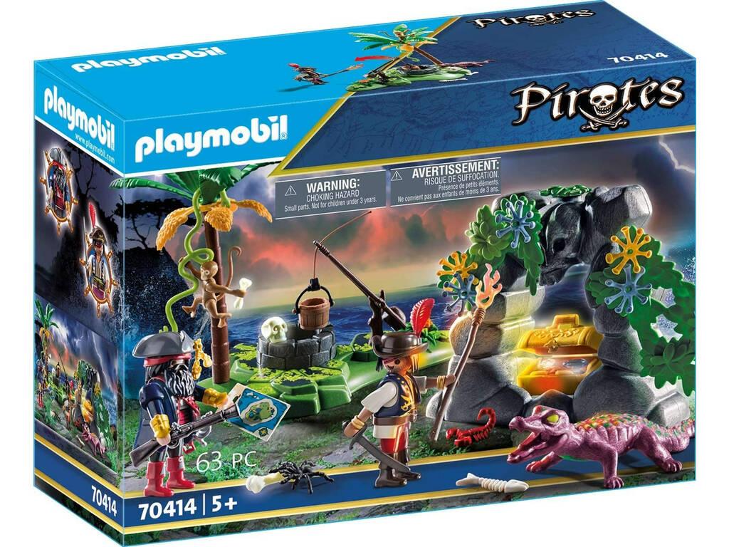 Playmobil Cachette Pirate Playmobil 70414