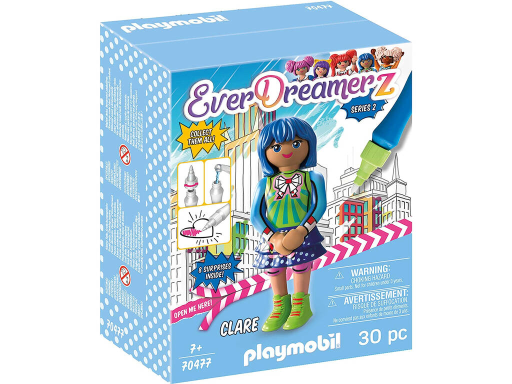 Playmobil EverDreamerz Series 2 Clare 70477