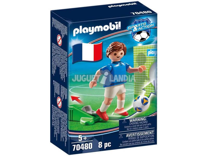 Playmobil Jugador de Fútbol Francia 70480