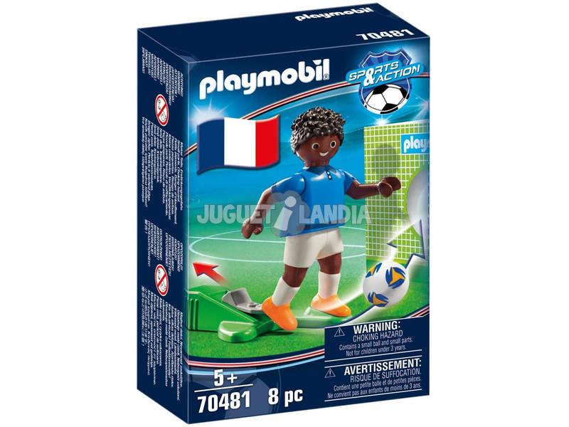 Playmobil Jugador de Futbol Francia 70481