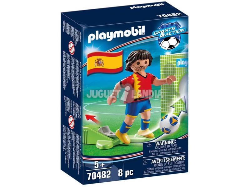 PLAYMOBIL® 70482 JUGADOR DE FUTBOL ESPAÑA