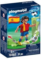 Playmobil Joueur de Footbal Espagne 70482