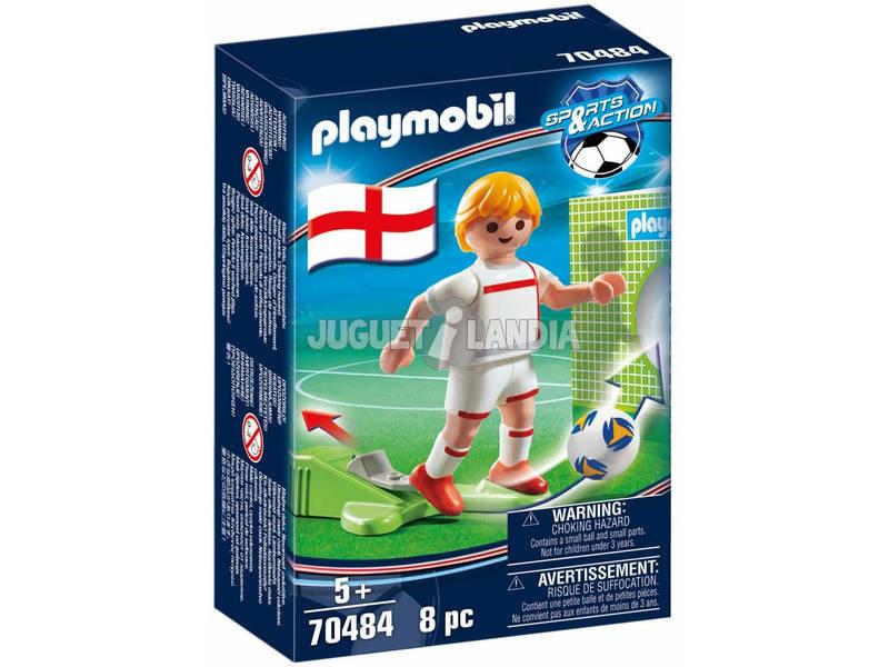 Playmobil Jugador de Fútbol Inglaterra 70484