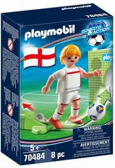 Playmobil Joueur de Football Anglaterre 70484