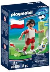 Playmobil Jogador de Futebol Polónia 70486