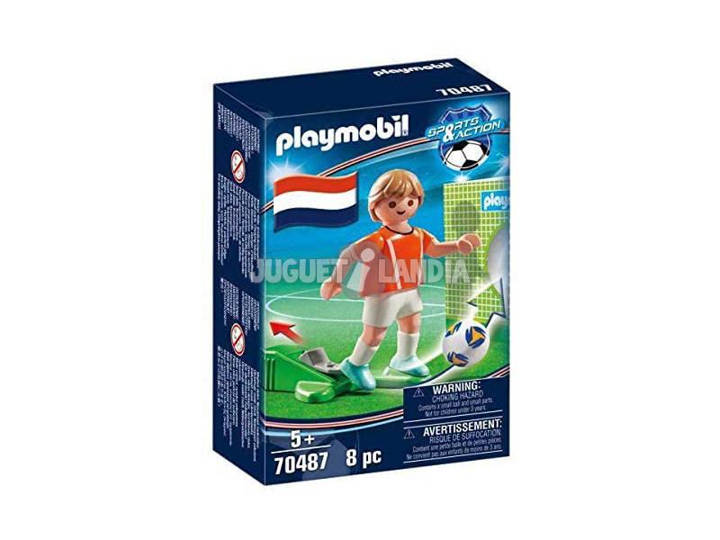 Playmobil Jugador de Fútbol Holanda 70487