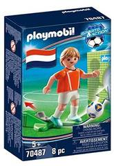 Playmobil Joueur de Football Hollande 70487