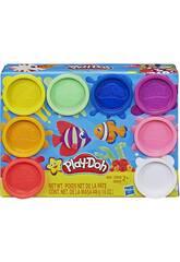 PlayDoh Pack 8 pots de Pate à modeler Arc en ciel Hasbro E5062