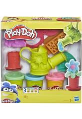 Playdoh Kit di Attrezzi Growing Garden Set Hasbro E3564
