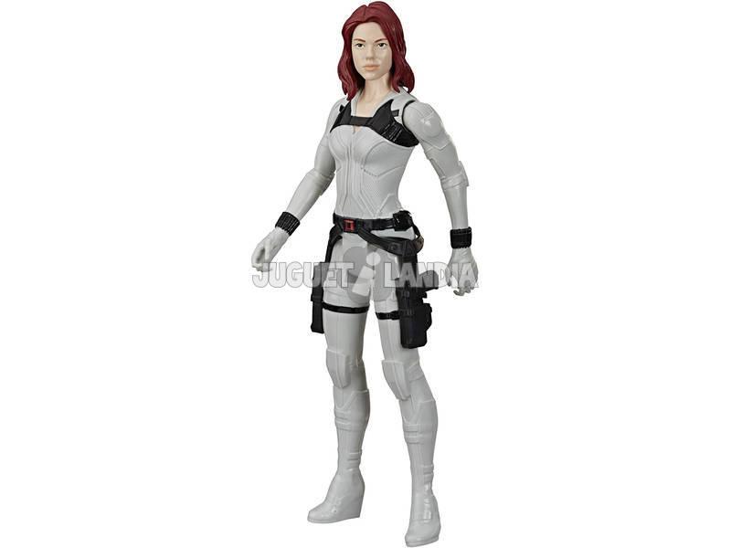 Black Widow Figura Titan Hero Black Widow Hasbro E8736