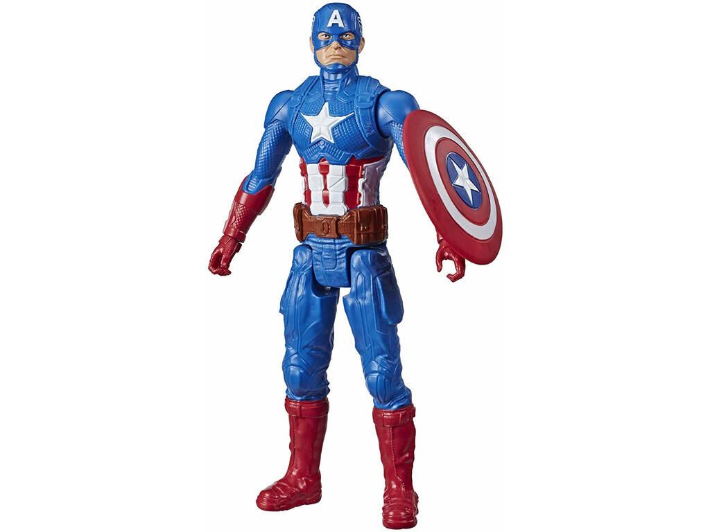 Avengers Titán Hero Capitán América Hasbro E7877