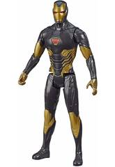 Avengers Figura Titán Gold Iron Man Hasbro E7878