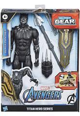 Avengers Figura Titan Black Panther com Acessórios Hasbro E7388