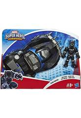 Avengers Super Hero Adventures Black Panther avec Road Racer Hasbro E6256