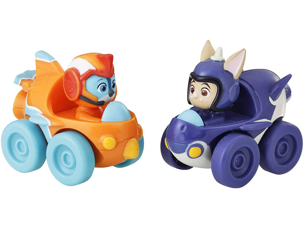 Top Wing Pack 2 Mini Vehículos Seift and Baddy Racers Hasbro E5350