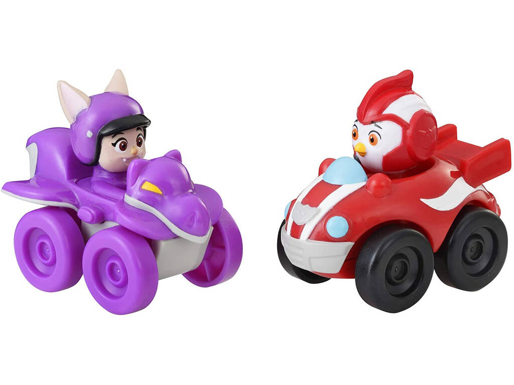 Top Wing Pack 2 Mini Vehículos Rod and Betty Racers Hasbro E5351