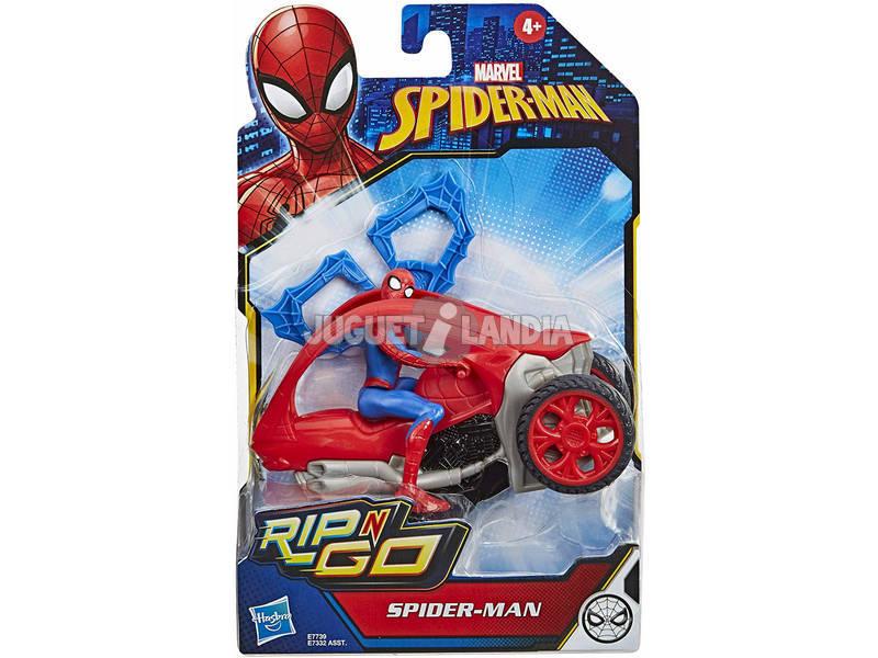 Spiderman Rip N Go Spiderman Hasbro E7739