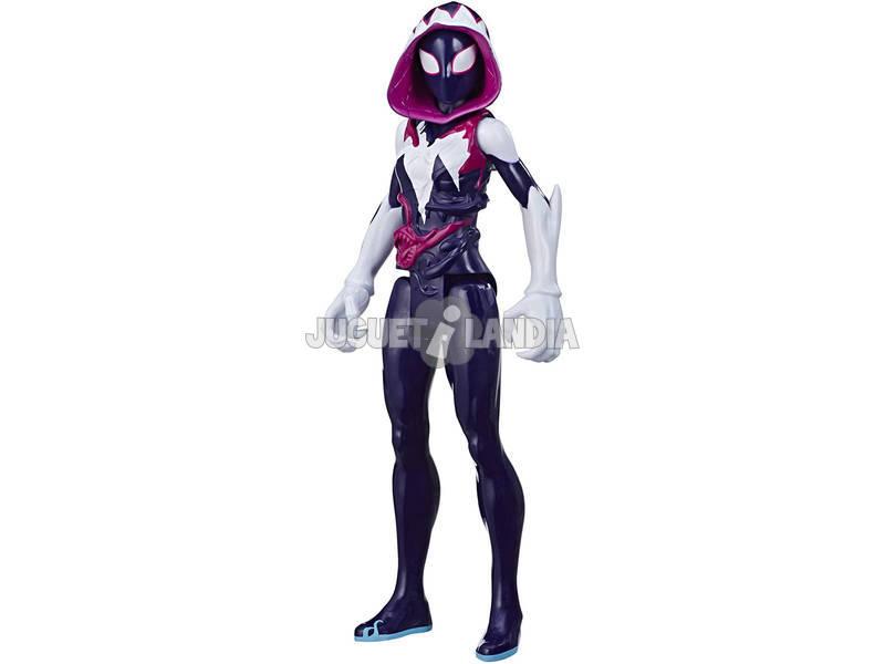 Spiderman Venom Figura Titan Ghost Spider Hasbro E8730