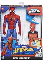 Spiderman Figura Titan con Accessori Hasbro E7344