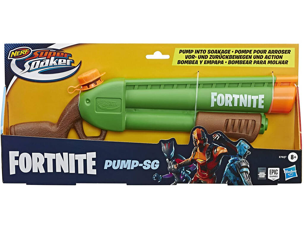 Nerf Fortnite Super Soaker Pump SG Hasbro E7647