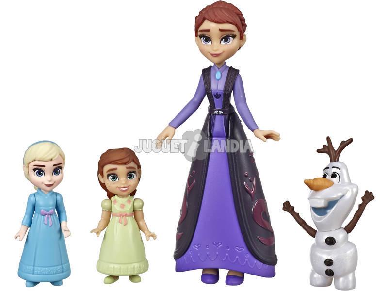 Frozen 2 Escenas de Película Set Escena Familiar Hasbro E6913