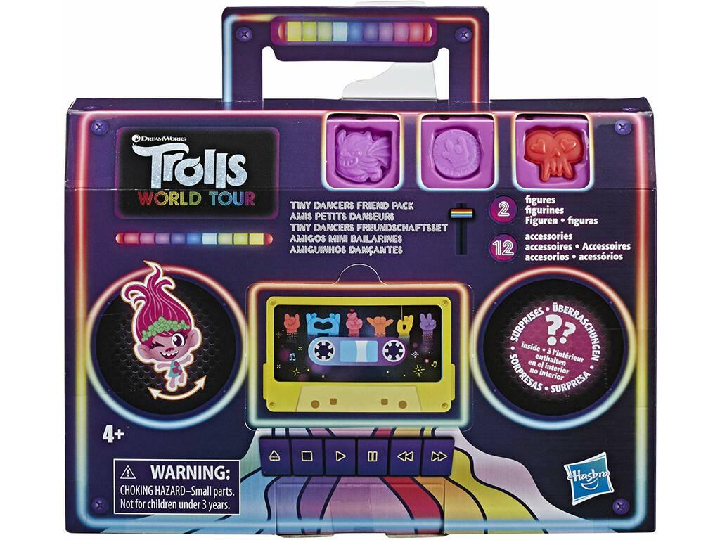 Trolls World Tour Pack Pulseras Amigos Mini Bailarines Hasbro E8421