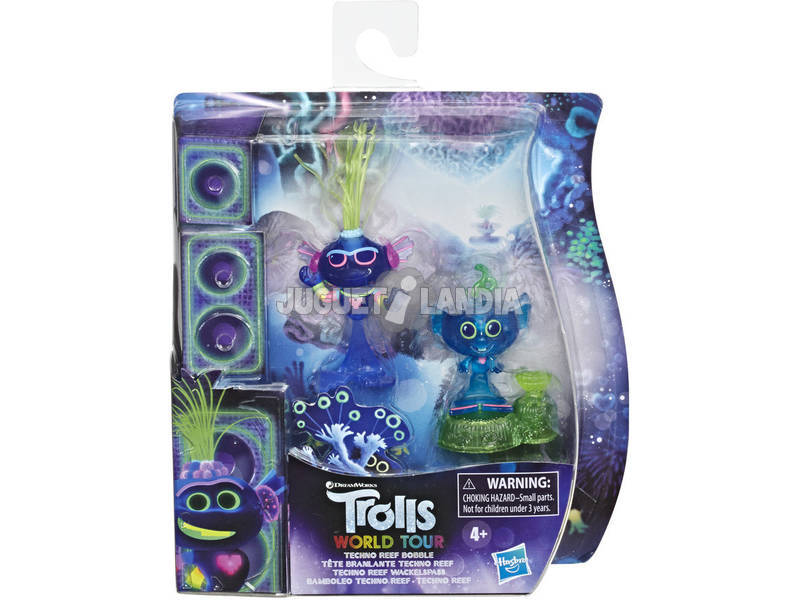 Trolls Figura City Techno Reef Bobble Hasbro E8419