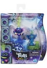 Trolls Figurine City Techno Reef Bobble Hasbro E8419