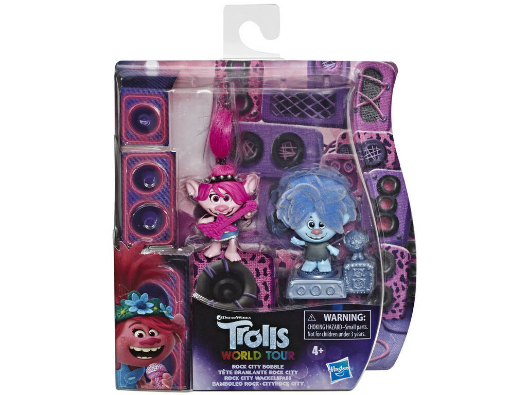 Trolls Figura Rock City Bobble Hasbro E85815L00