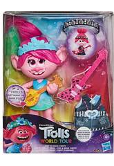 Trolls World Tour Poupée Poppy Rock Hasbro E9411