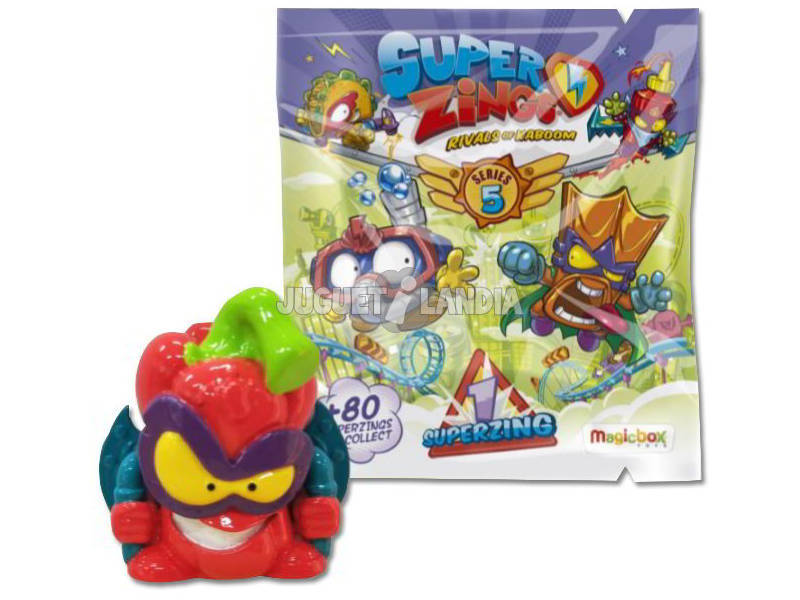 Superzings Enveloppe Série 5 Magicbox PSZ5D250IN00