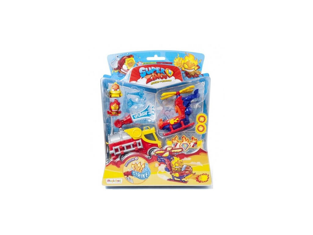 Superzings Mission 5 Fire Strike Magicbox PSZSB216IN50