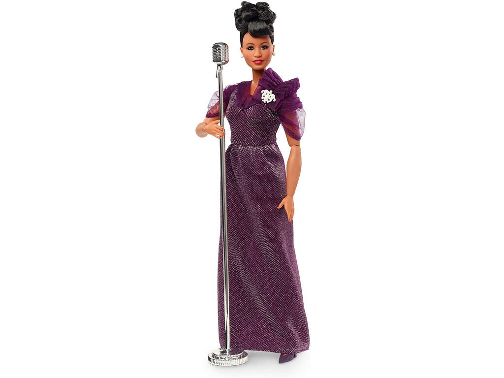 Barbie Colección Inspiring Women Ella Fitzgerald Mattel GHT86