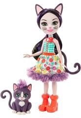 Enchantimals Bamobla Ciesta Cat con Gatta Climber Mattel GJX40