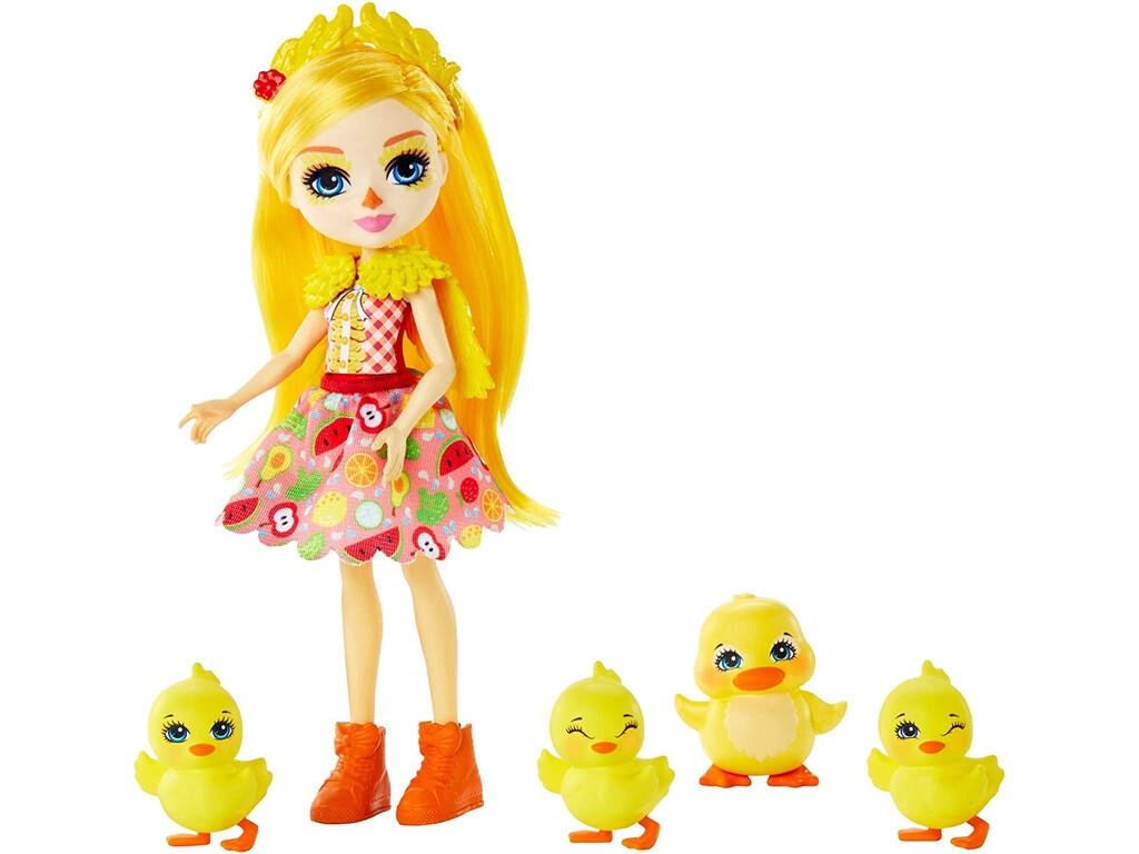 Enchantimals Muñeca Dina Duck y Pato Slosh Mattel GJX45