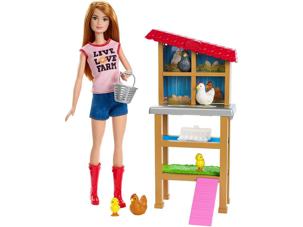 Barbie Yo Puedo Ser Granjera Mattel FXP15