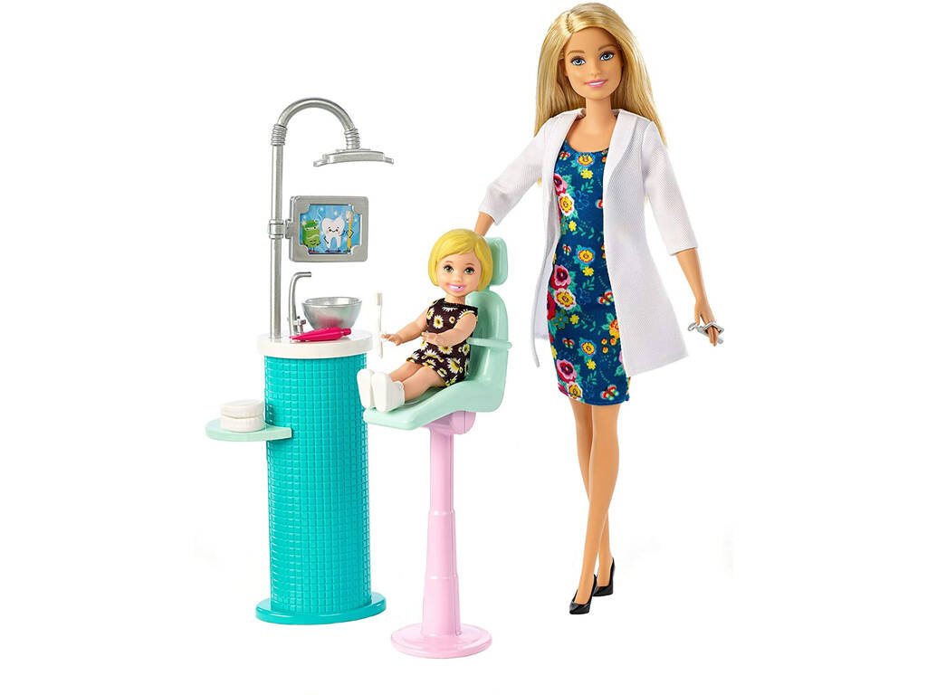 Barbie Yo Puedo Ser Dentista Mattel FXP16