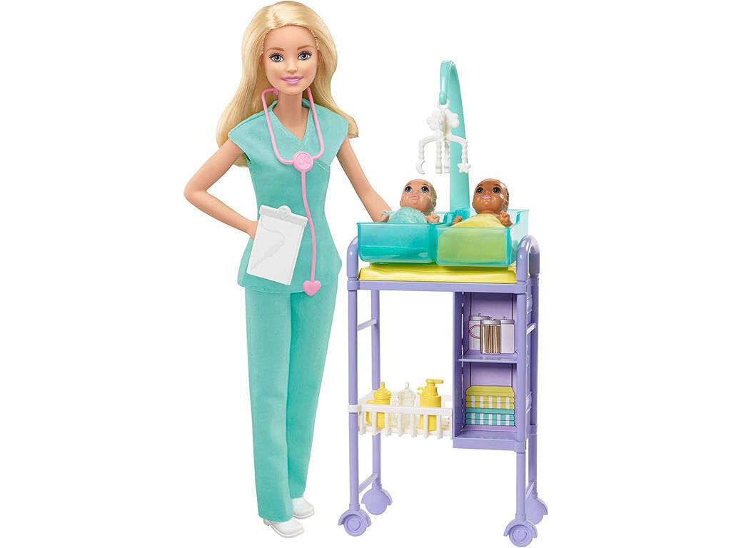 Barbie Yo Puedo Ser Pediatra Mattel GKH23