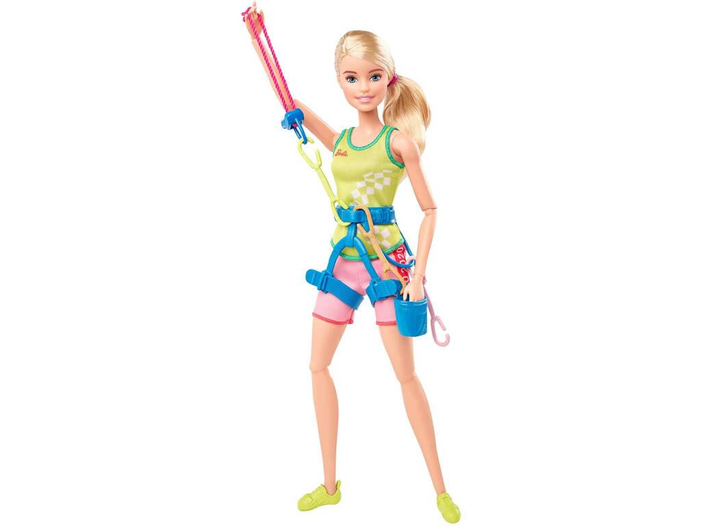 Barbie Olimpiadas Escaladora Mattel GJL75